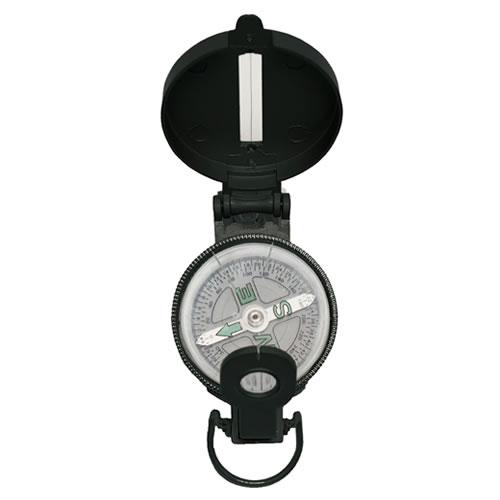 Kompas US kovové tělo ČERNÝ (ENGINEER)