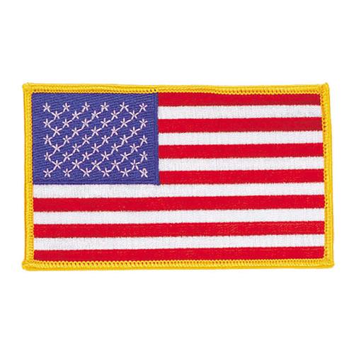 Nášivka US vlajka JUMBO 7,5 x 12,5 cm