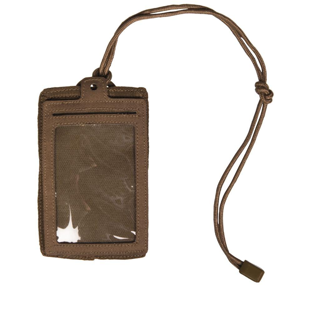 MIL-TEC®   Pouzdro ID na doklady se suchým zipem DARK COYOTE