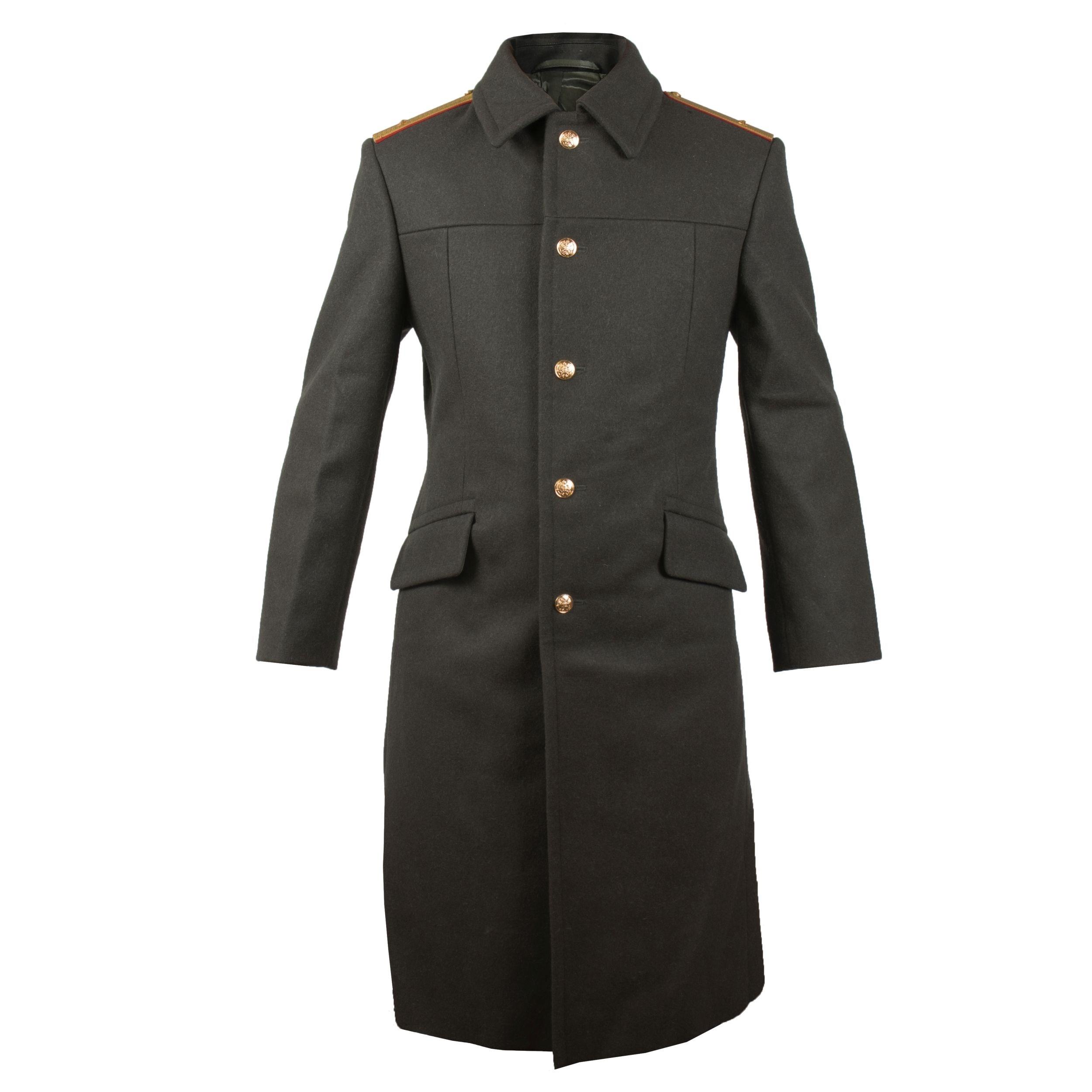 Kabát ruský VLNĚNÝ se zlatými knoflíky Armáda Ruská 16010155 L-11