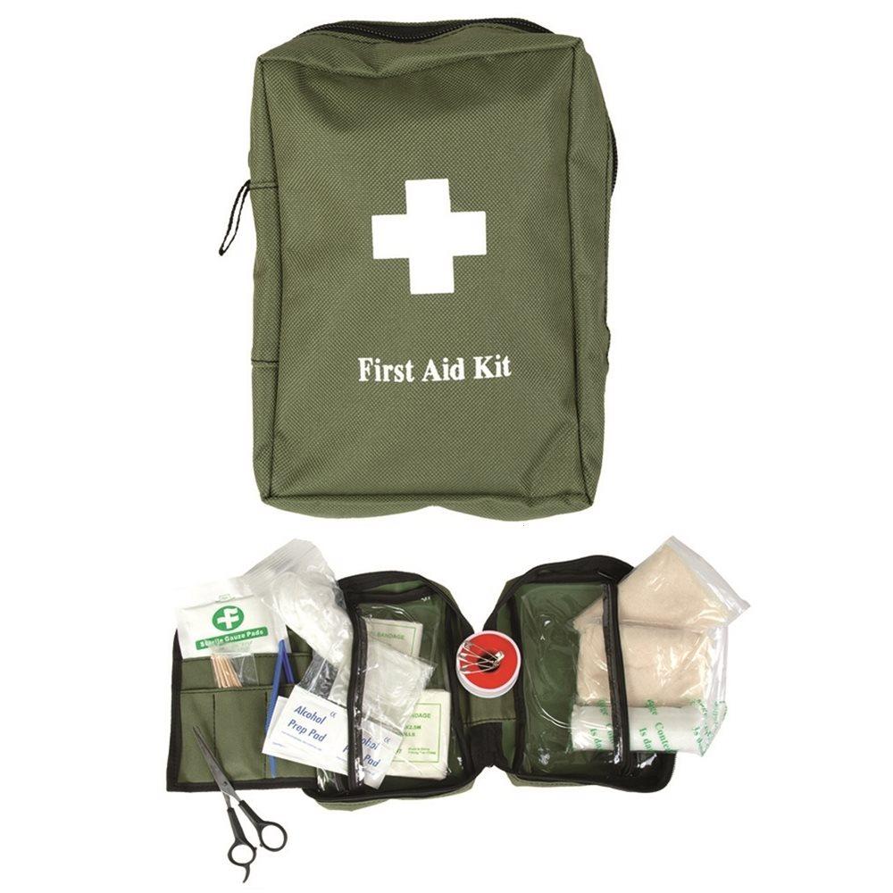 Lékárna s vybavením velká pouzdro ZELENÉ MIL-TEC® 16027001 L-11