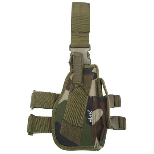 MIL-TEC® Pouzdro pistolové stehenní PRAVÉ CCE TARN