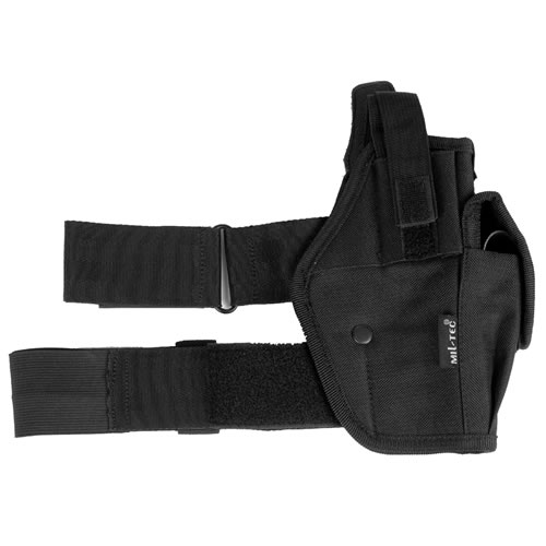 MIL-TEC® Pouzdro pistolové stehenní ČERNÉ
