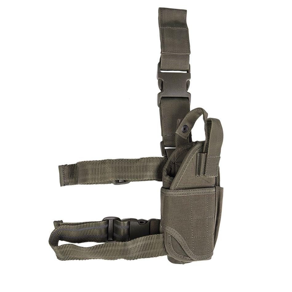 MIL-TEC® Pouzdro pistolové stehenní CORDURA ZELENÉ