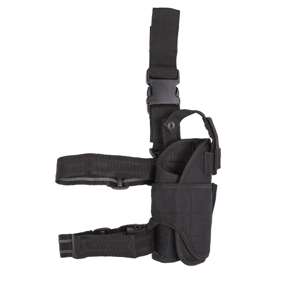 MIL-TEC® Pouzdro pistolové stehenní CORDURA ČERNÉ