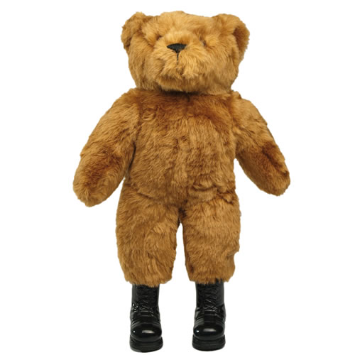 Hračka TEDDY medvídek velký včetně bot