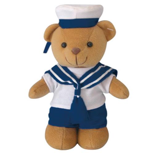 Hračka TEDDY medvídek NÁMOŘNÍK 20 cm