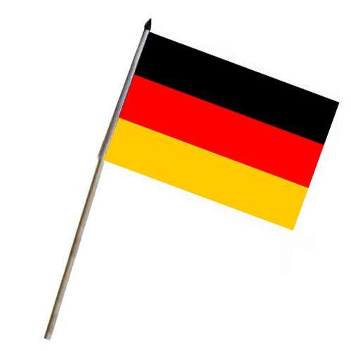 Vlajka na tyčce německá SRN