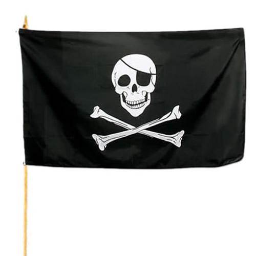 Vlajka na tyčce PIRÁT
