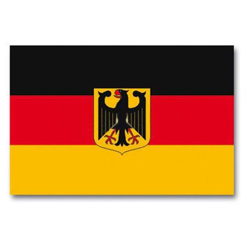 Vlajka státní SRN s orlicí