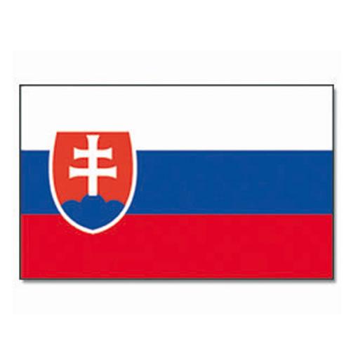 Vlajka na tyčce SLOVENSKO 30x45cm