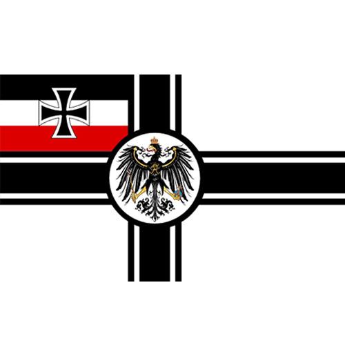 Vlajka ŘÍŠSKÉ NĚMECKO na tyčce 30 x 45 cm