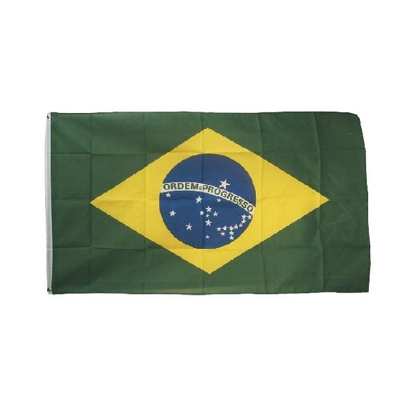 Vlajka státní BRAZILIE