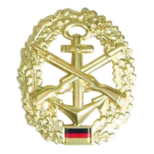 Odznak BW na baret zlatý Marine-Sicherungstruppe
