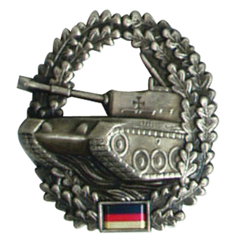 Odznak BW na baret Panzertruppe