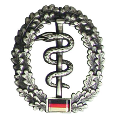 Odznak BW na baret Sanitätstruppe