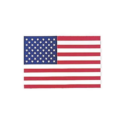 Samolepka U.S. vlajka na sklo zvenčí