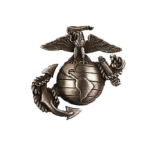 Odznak USMC STŘÍBRNÝ MATNÝ