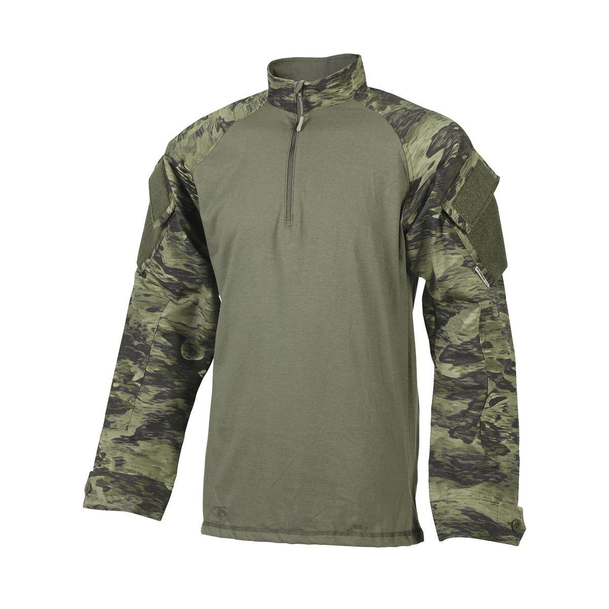 Košile taktická BDU Xtreme 1/4 zip A-TACS FG-X TRU-SPEC 17760 L-11