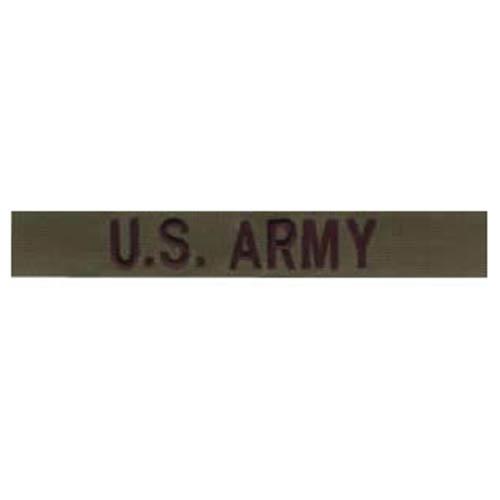 """Nášivka """"U.S ARMY"""" OLIV"""