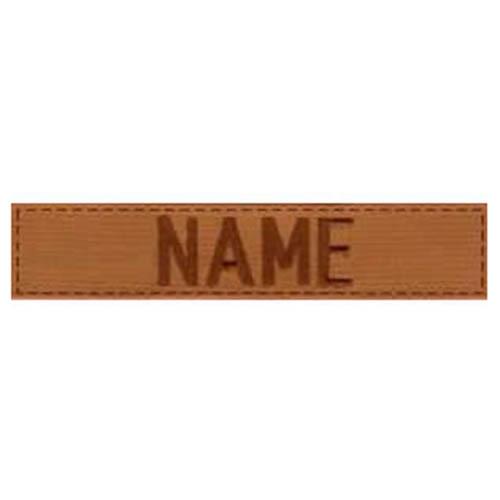 """Nášivka jmenovka """"NAME"""" VELCRO COYOTE"""
