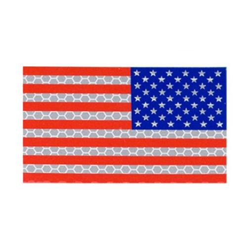 Nášivka IFF IR vlajka USA VELCRO reverzní BAREVNÁ