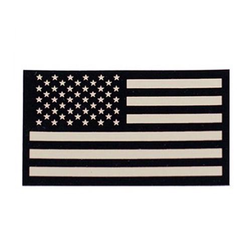 Nášivka IFF IR vlajka USA VELCRO PÍSKOVÁ