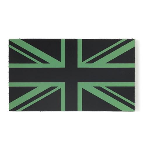 Nášivka IFF IR vlajka GB VELCRO ZELENÁ