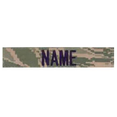 """Nášivka jmenovka """"NAME"""" 12,5 cm VELCRO DIGITAL TIGER"""