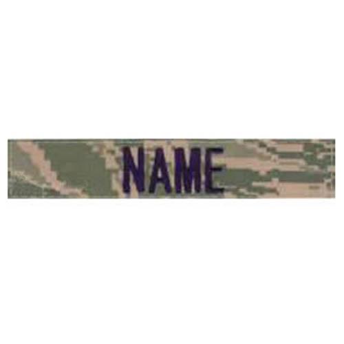"""Nášivka jmenovka """"NAME"""" 15 cm VELCRO DIGITAL TIGER"""