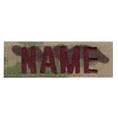 """Nášivka jmenovka """"NAME"""" 7,5 cm VELCRO MULTICAM®"""
