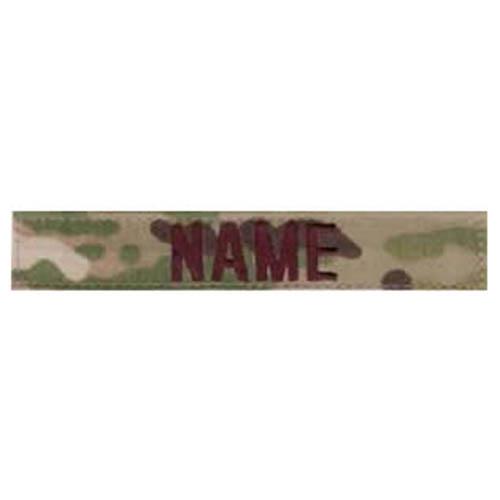 """Nášivka jmenovka """"NAME"""" 5"""" VELCRO MULTICAM®"""