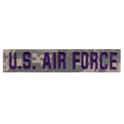 "Nášivka ""U.S AIRFORCE"" modrá nit VELCRO ACU DIGITAL"