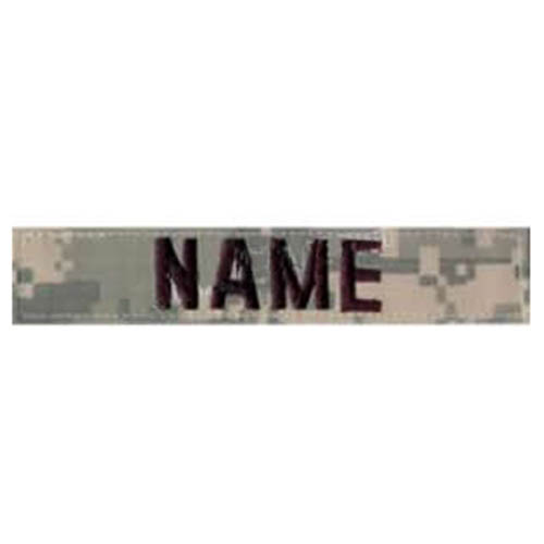 """Nášivka jmenovka """"NAME"""" ACU DIGITAL"""