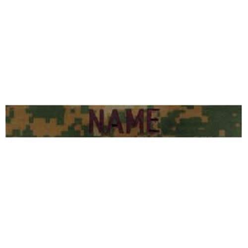 """Nášivka jmenovka """"NAME"""" VELCRO MARPAT"""