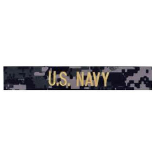 """Nášivka """"U.S.NAVY"""" zlatá niť DIGITAL NAVY"""