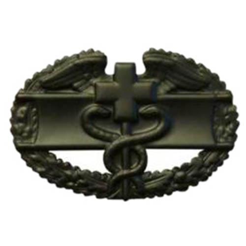 Odznak US COMBAT MEDICAL 1st AWARD ČERNÝ