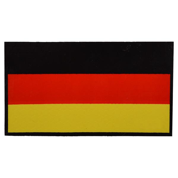Nášivka IFF IR vlajka NĚMECKÁ velcro BAREVNÁ