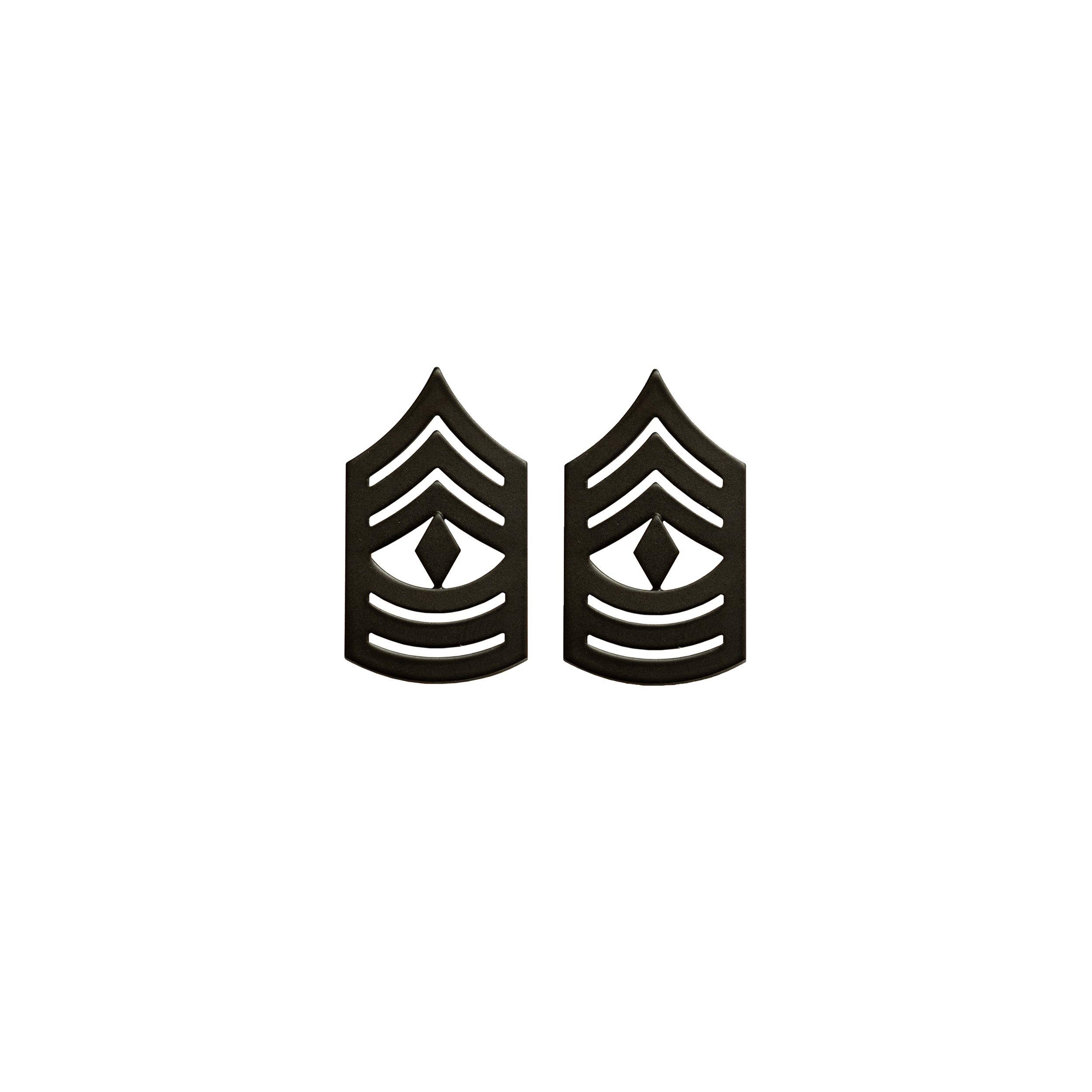 Odznak hodnostní USMC - 1stSgt. - ČERNÝ