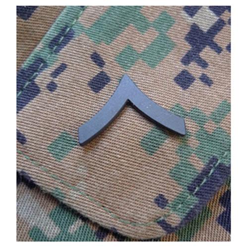 Odznak hodnostní USMC - Pfc. - ČERNÝ