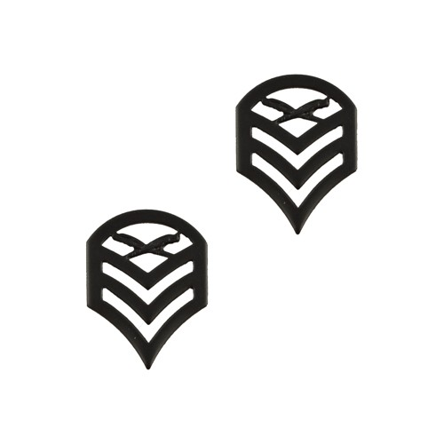 Odznak hodnostní USMC - SSgt. - ČERNÝ