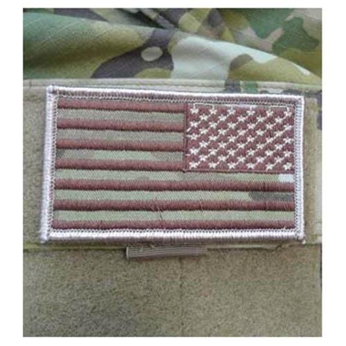 Nášivka vlajka US reversní MULTICAM® VELCRO