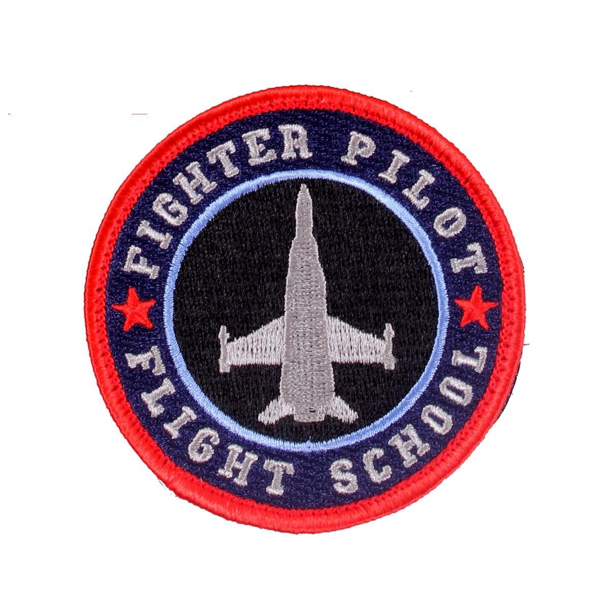 Nášivka FIGHTER PILOT FLIGHT SCHOOL velcro