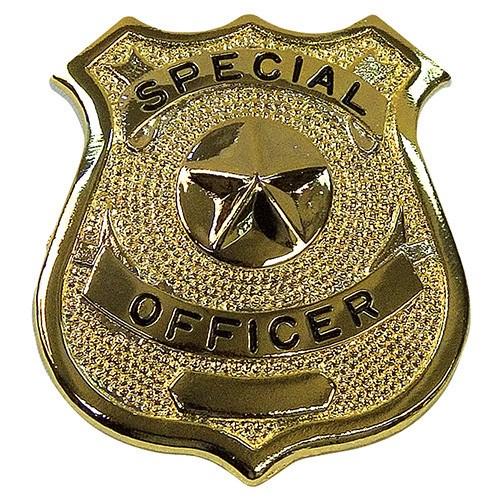 Odznak SPECIAL OFFICER ZLATÝ