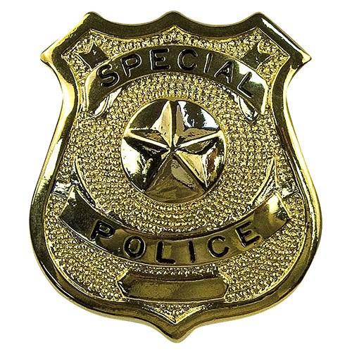 Odznak SPECIAL POLICE ZLATÝ