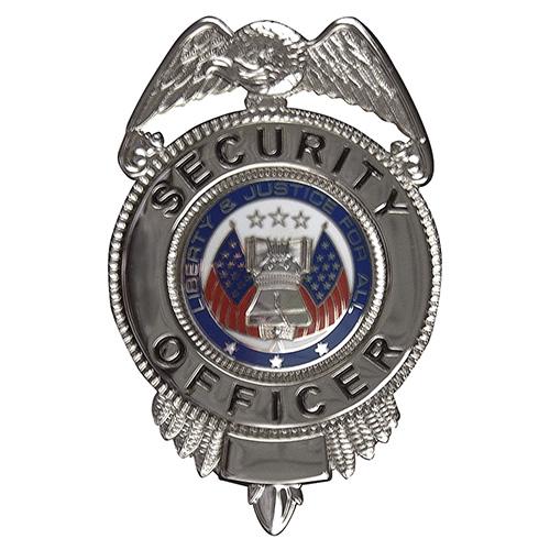 Odznak SECURITY OFFICER / ZNAK BAREVNÝ