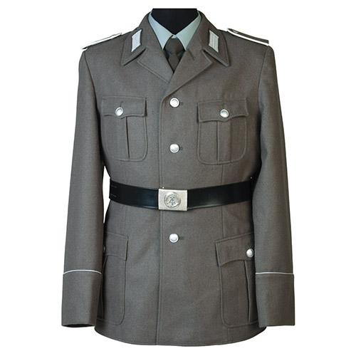 Sako NVA unifor.s prýmky vojín LASK ŠEDÉ original Armáda NVA/DDR 19351100 L-11