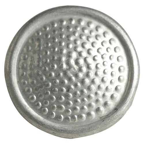 Knoflík NVA NÁRAMENÍKOVÝ ALU stříbrný 16 MM