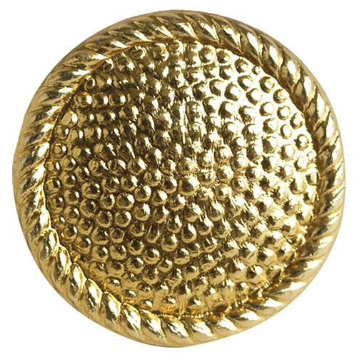 Knoflík NVA nárameníkový GEN.zlatý 16 MM