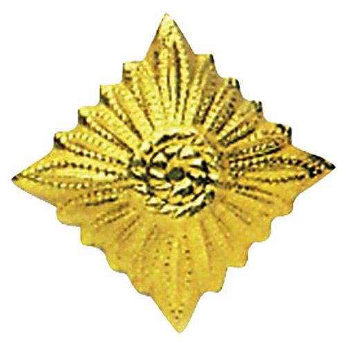 Odznak hodnostní NVA hvězda GOLD - ZLATÁ